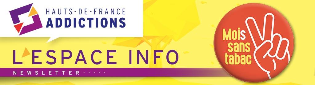 L'espace info - Newsletter - Haut-de-France Addictions - Mois sans tabac